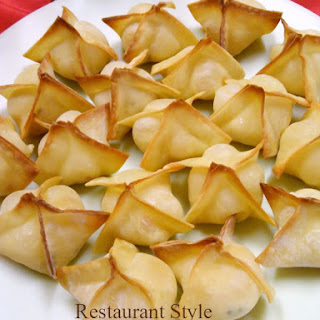 Restaurant Style Crab Rangoon at Home Recipe