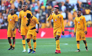 Kaizer Chiefs players dejected follwoing their 2-1 Absa Premiership Soweto derby loss to arch rivals Orlando Pirates at FNB Stadium on October 27 2018.