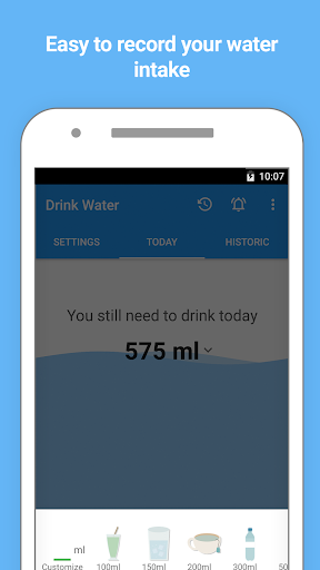 Water Drink Reminder and Alarm 2.6 screenshots 2