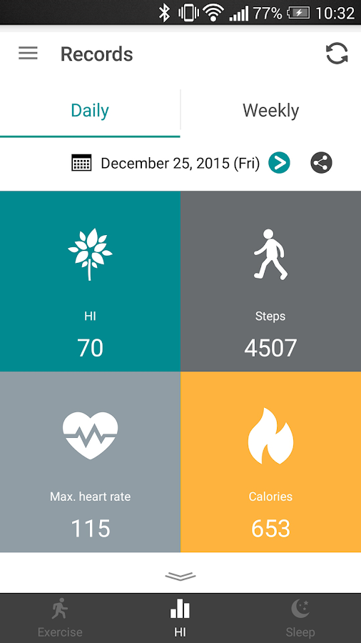 HiVivo for ASUS VivoWatch- screenshot