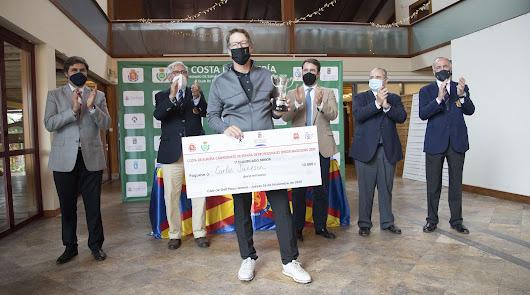 Carlos Suneson es el campeón del 'Costa de Almería'