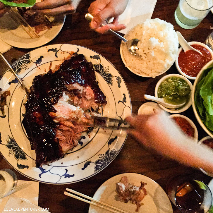 Momofuku Ssam Bar (Ultimate NYC Food Bucket List - 49 Places to Eat in NYC).