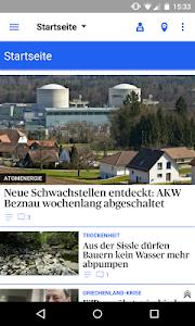 az Aargauer Zeitung News screenshot 0