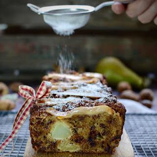Pear and Cardamom Loaf Cake