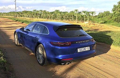 The rear has a Sportback feel about it, offering additional space without being an all-out estate