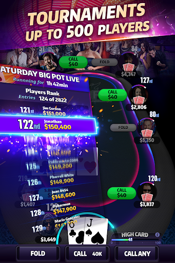 Mega Hit Poker: Texas Holdem massive tournament  gameplay | by HackJr.Pw 5