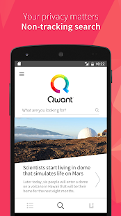 Qwant - náhled