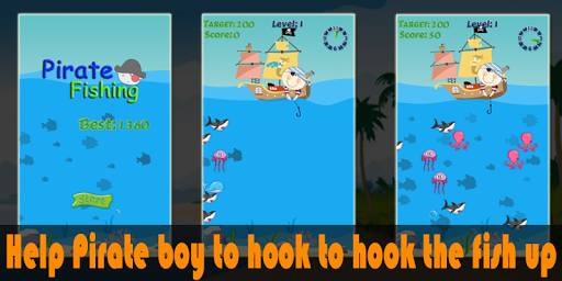 玩休閒App|Pirate Fishing Game Free免費|APP試玩