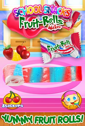 Fruit Roll Candy Maker - School Snacks Sim FREE 1.0 screenshots 4