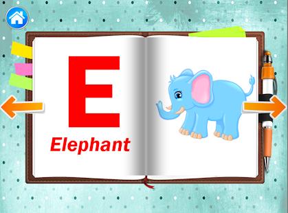 Алфавит, азбука - учим буквы, слова для детей - náhled