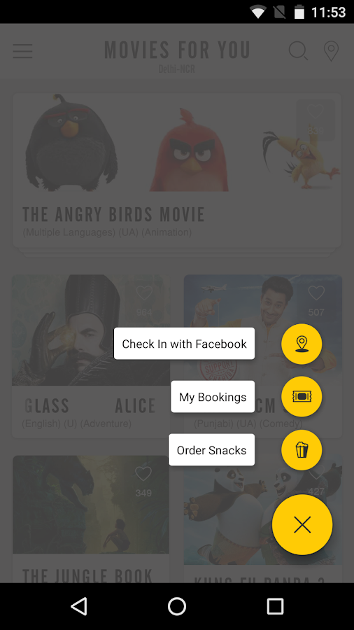 PVR Cinemas - Movie Tickets- screenshot