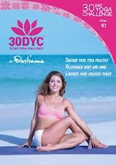 Dashama Konah Gordon - 30DYC: 30 Day Yoga Challenge With Dashama Disc 10