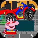 peppa bike pig adventure Icon