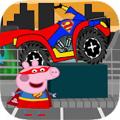 peppa bike pig adventure