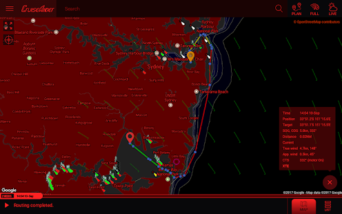 CruiseAider - Weather Routing for Sailing- screenshot thumbnail