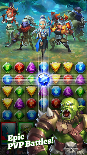Dragon Strike: Puzzle RPG apktram screenshots 3
