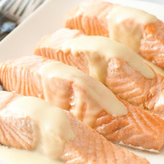 Poached Salmon with Lemon Sauce Recipe