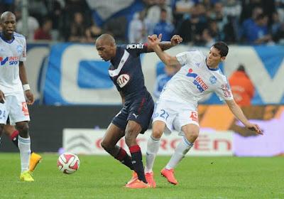 Marseille s'incline à Bordeaux et tombe du podium
