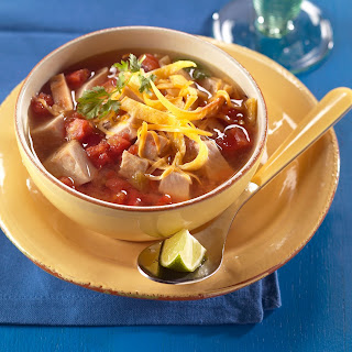 Southwestern-style Pork Tortilla Soup.