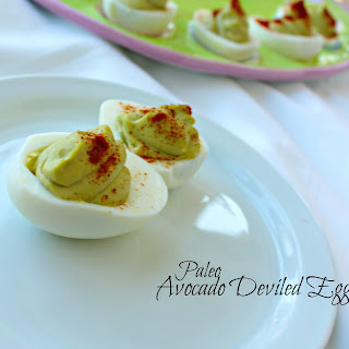 Avocado Deviled Eggs