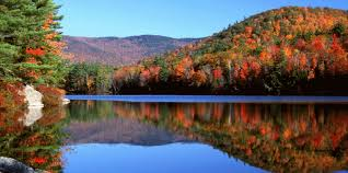 Image result for fall foliage in new hampshire lake winnipesaukee