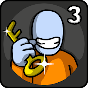 One Level 3: Stickman Jailbreak MOD APK 1.5 (All Levels Unlocked)