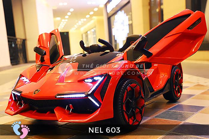 xe ô tô điện trẻ em Lamborghini NEL-603 7