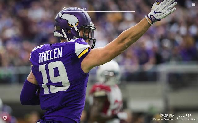 Minnesota Vikings NFL HD Wallpapers New Tab
