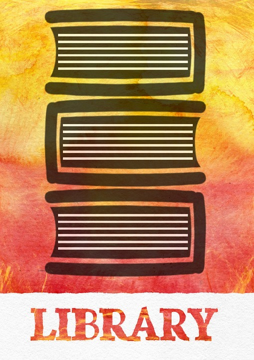 Free illustration: Library, Sign, Books, Plate, Book - Free Image ...