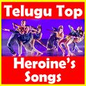 Telugu Top Heroines Songs icon