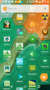 Hexy Launcher- screenshot thumbnail