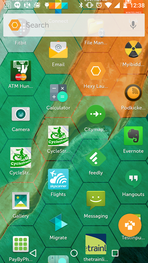Hexy Launcher- screenshot