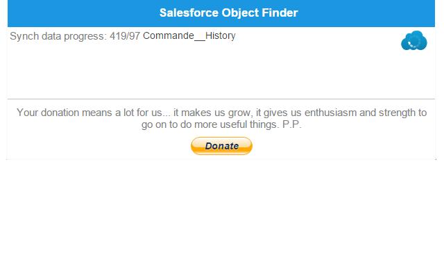 Salesforce Object Finder