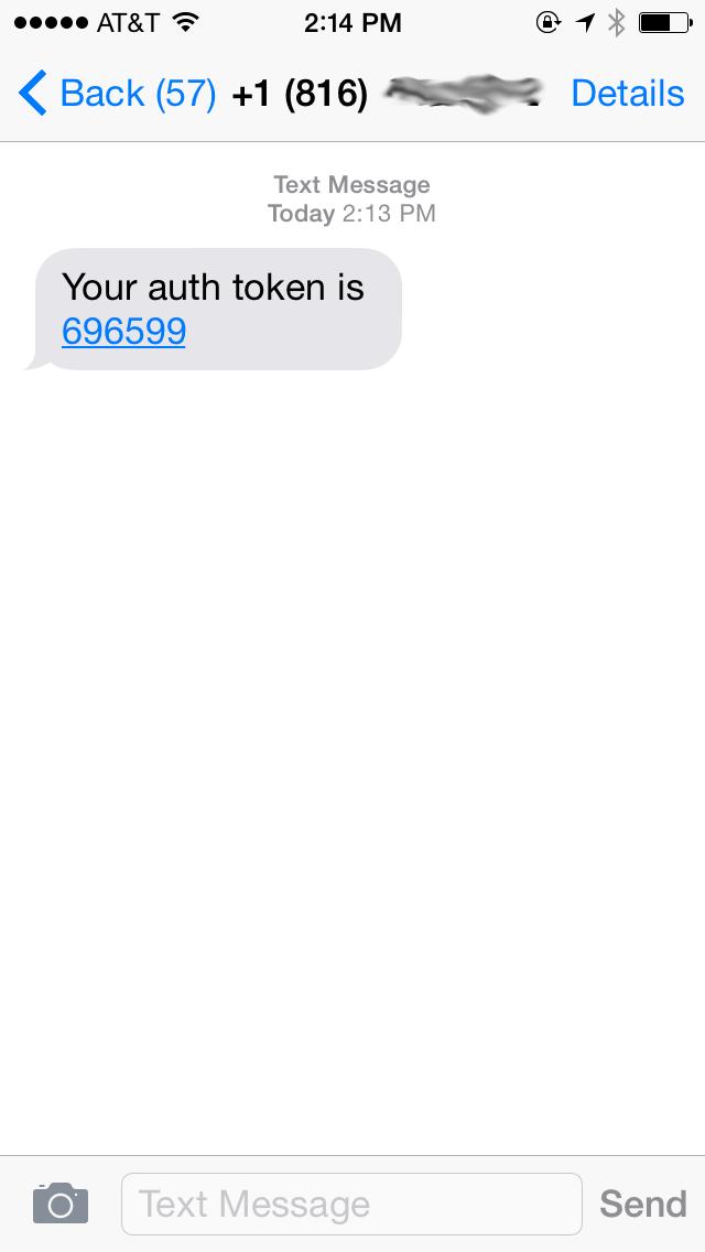 Mobile Passwordless SMS Authentication: Part 1 – Building