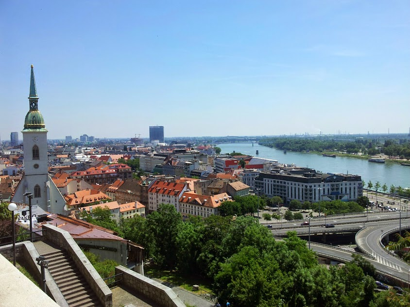 The View from the Bratislava Castle