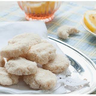 Raw Lemon Macaroons [Vegan, Raw, Gluten-Free].