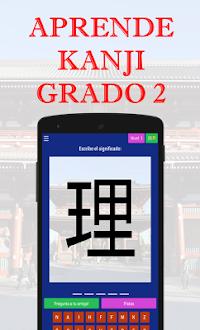 Aprende Kanji Grado 2 Gratis