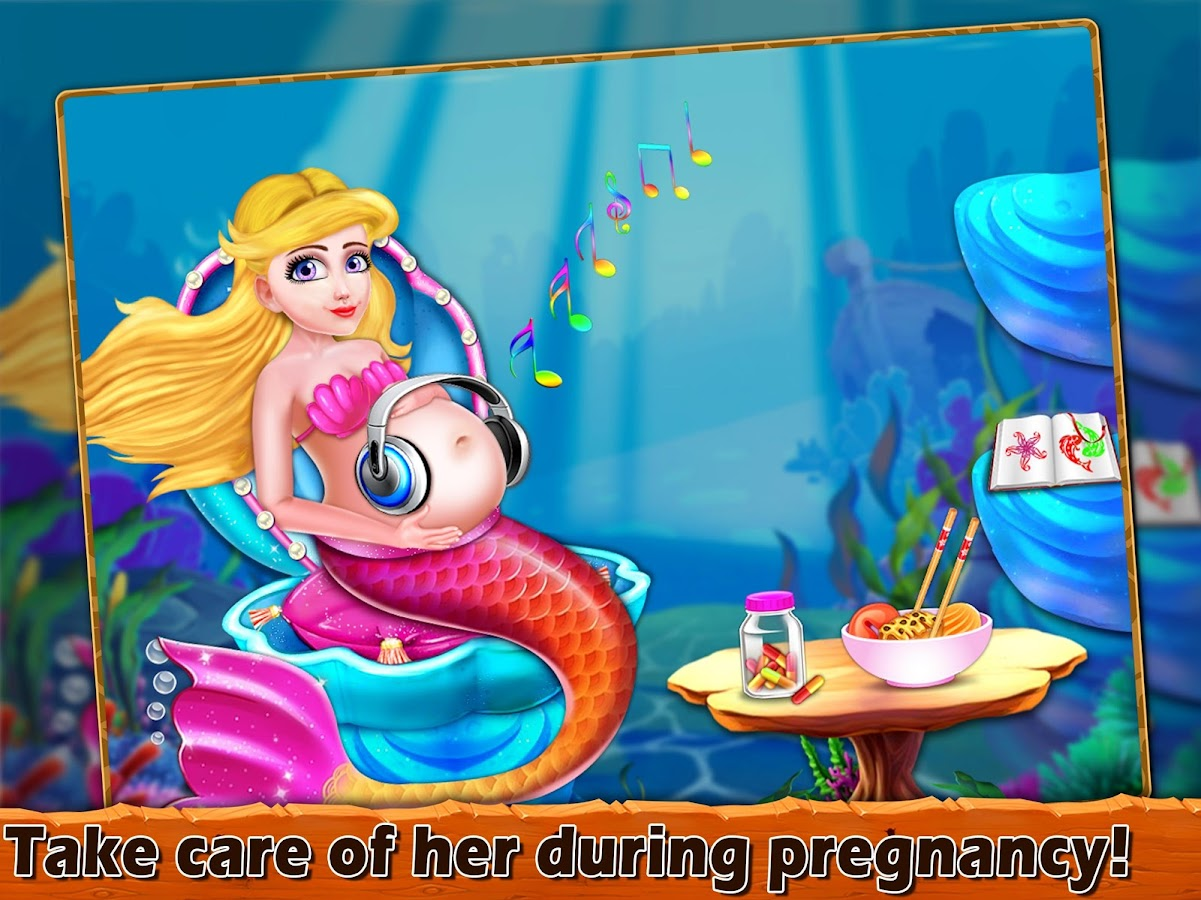 Mermaid Pregnancy Check Up- screenshot