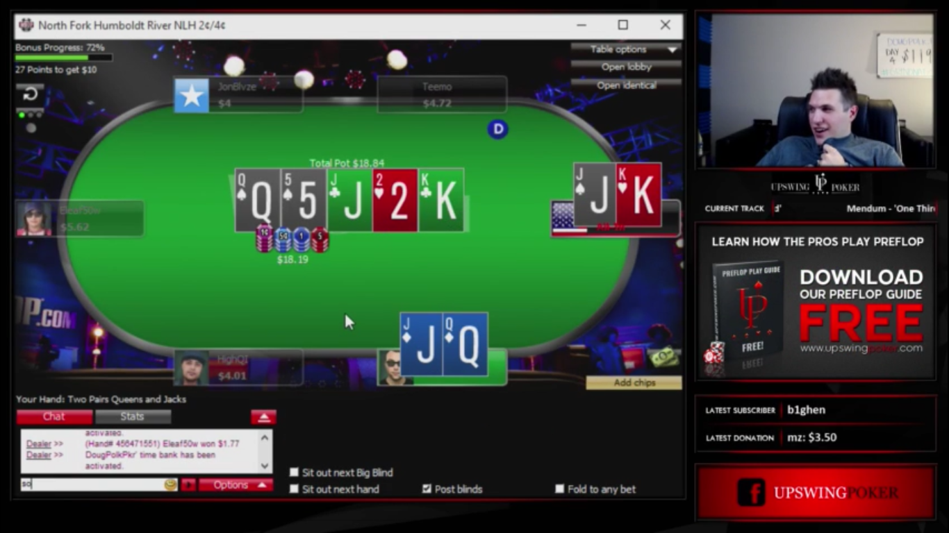 doug polk 10k challenge pot