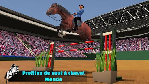 Télécharger Gratuit Simulateur de saut de cheval 2020 mod apk screenshots 2