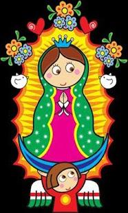 Virgen De Guadalupe Dibujo Para Niños - náhled