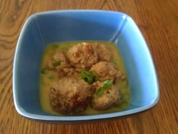 Meatballs In Coconut Broth Recipe