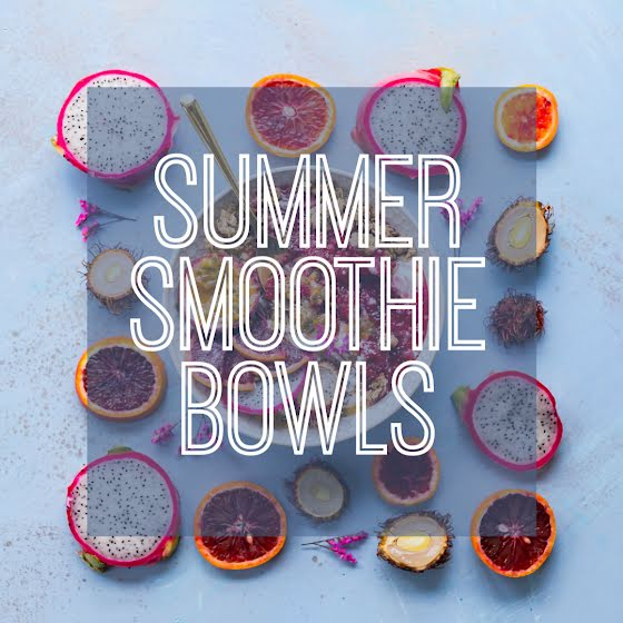 Summer Smoothie Bowls - Instagram Post Template