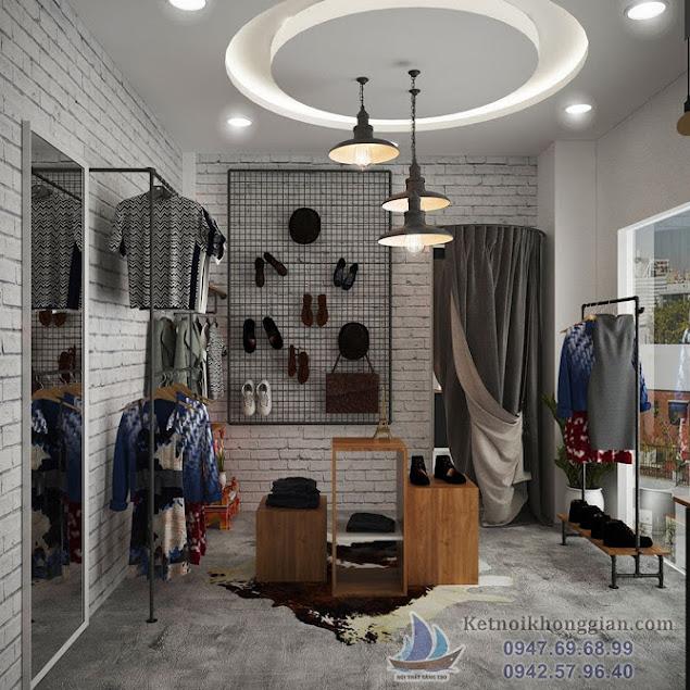 thiết kế shop thời trang độc đáo chất lượng cao