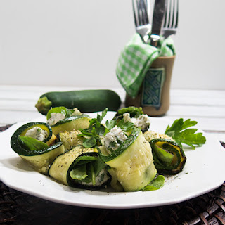 Zucchini Goat Cheese Rolls Recipe