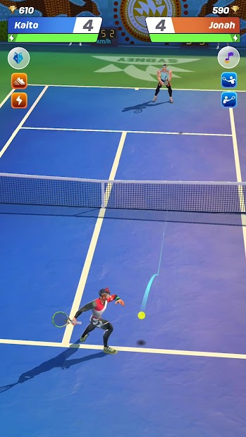 Tennis Clash: 3D Sports - Free Multiplayer Games Android App Screenshot