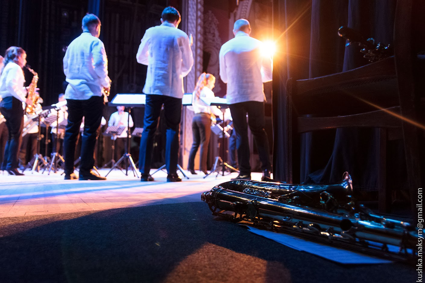 Український ансамбль саксофоністів: прекрасна дюжина, наймолодший саксофоніст та ірландські танці