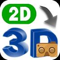 VR 2D3D Converter icon