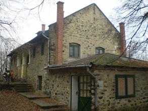 Photo: A Kaán Károly kulcsosház.Idén nem itt volt az etetőállomás.