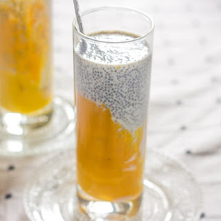Mango Chia Seed Breakfast Drink